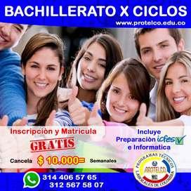 BACHILLERATO POR CICLOS