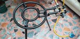 Quemador de Paella de 2 Aros