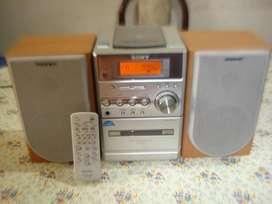 Microcomponente Sony Cmt Ne3 C/ctrl Rem Orig Excel Sonido!!