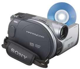 Sony DCR-DVD105 DVD Handycam videocámara con zoom óptico de 20x USADA