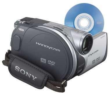 Sony DCR-DVD105 DVD Handycam videocámara con zoom óptico de 20x USADA 0