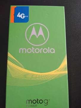 Motorola Motog7 power nuevo