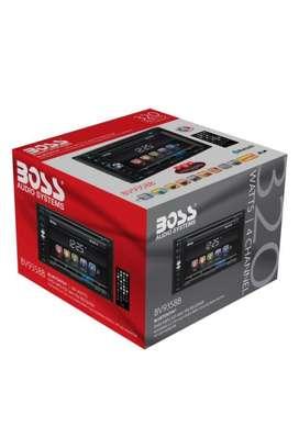 "Reproductor DVD pantalla tactil 6,2"" marca BOSS con camara de reversa"