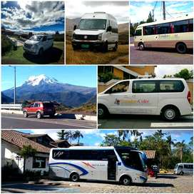 Alquiler de Buses de Turismo Furgonetas para Recorridos Renta de Buses Microbuses Servicios de Tours Diarios Paseos
