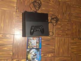 Ps4 fat semi/nueva