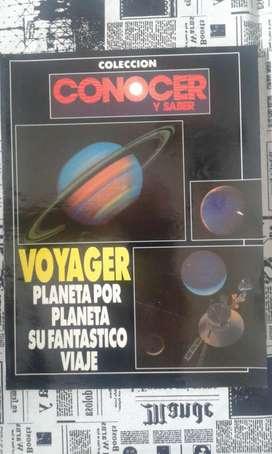 Revista Colección Conocer Y Saber Voyager