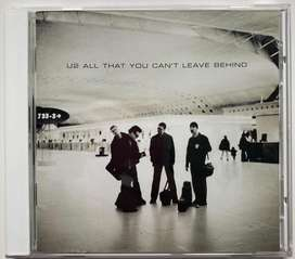 U2 all that you can't leave benind cd