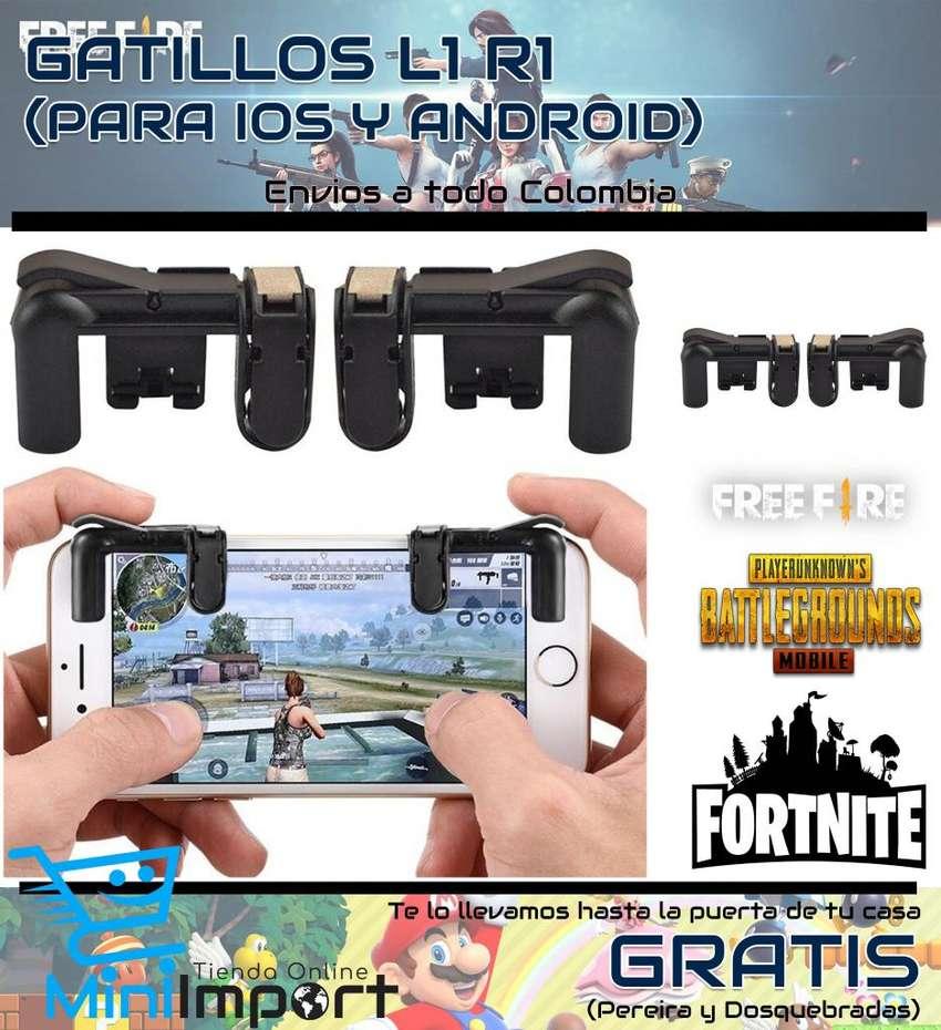 Gatillos L1 R1 para Smartphone 0