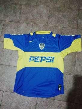 Camiseta de Boca pepsi Nike Casi Nueva M