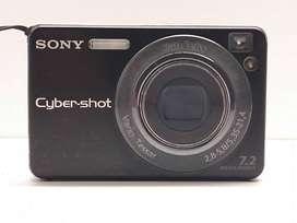 Camara Digital Sony Dsc-w125 7,2 Mega Pixeles