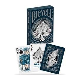 Baraja De Cartas Bicycle Dragon. Original. Por Banimported