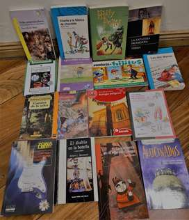 Lote de 36 libros usados