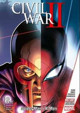 Civil War parte2 x-men y spiderman
