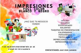 Impresiones full color