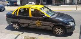 vendo chevrolet classic taxi con licencia