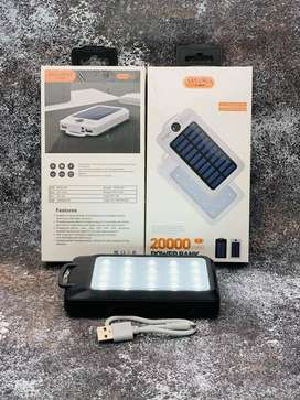 POWER BANK SOLAR 20.000 MAH +BRUJULA