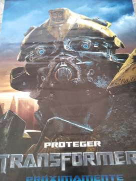 afiche original de transformes