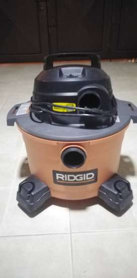 Aspiradora ridgid 6 galones