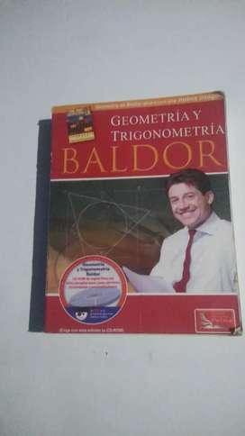 Libro baldor de tema de geometría y trigonometría