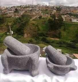 Morteros y Piedras de Asar