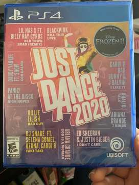 Juego play station 4 ps4 just dance 2020