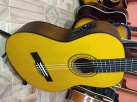 fabulosa guitarra clevan electro acustica