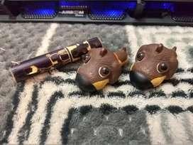 Llaveros - 2 Perritos y flauta