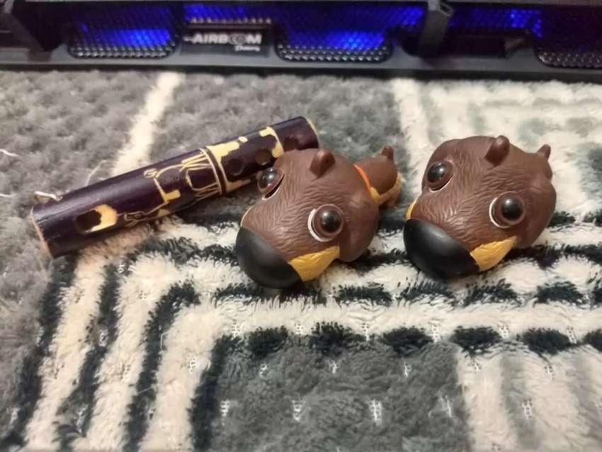 Llaveros - 2 Perritos y flauta 0