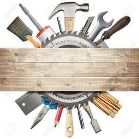 Servicio técnico de reparación  e instalación de closeres y cocinas  integrales cambio y mantenimiento de herrajes