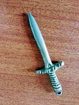 Espada en Bronce - Decoración - Adorno - Antiguo - Antiguedad