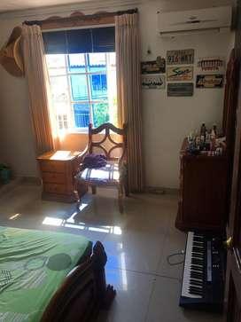 Arriendo habitacion amoblada, casa familiar