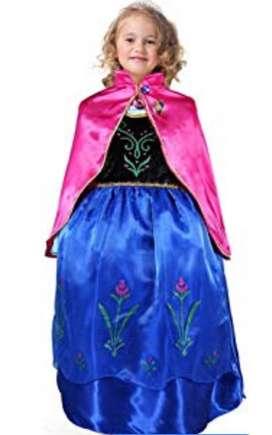 Disfraz Ana Frozen Talla 6