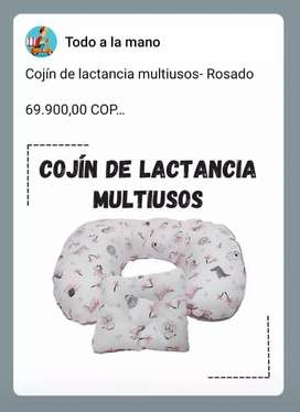 Cojín de lactancia multiusos- Rosado  69.900,00 COP  Garantía  30 días calendario por defectos de fabricación