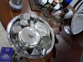 Accesorios en plata para la cocina