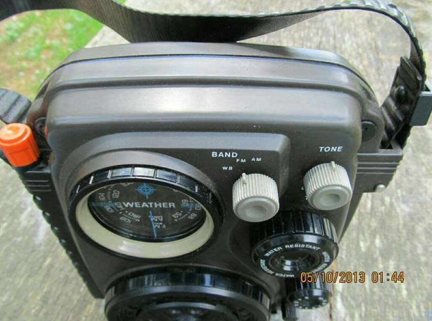 Radio Panasonic Sumergible Made In Japón 0