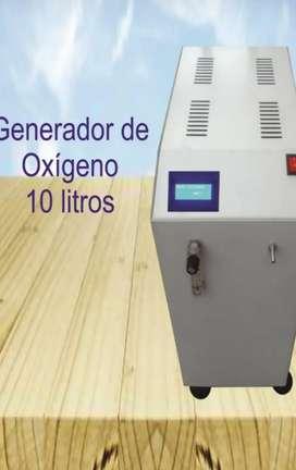 VENTA DE EQUIPO GENERADOR DE OXIGENO DE 10 LITROS X MINUTOS