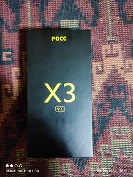 Poco x3 nfc negro usado de 64gb en caja