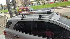 Portaequipaje en aluminio para cualquier tipo de vehiculo
