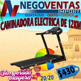 CAMINADORA PLEGABLE ELECTRICA DE 12 KM