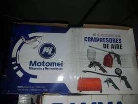 kit para compresor motomel