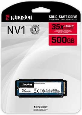 Disco Solido Ssd3 M2 Nvme/pcie 500gb Kingston NV1