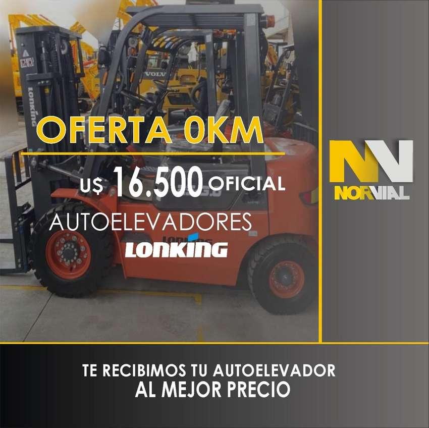 AUTOELEVADOR 0 km u$16.500 RECIBMOS TU USADO AL MEJOR PRECIO 0