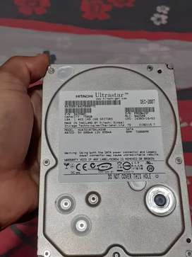Vendo disco duro para pc de mesa de 750gb  full  estado