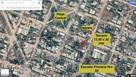 Terreno 12,5x25 Presidencia De La plaza