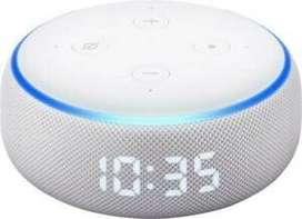 Amazon Echo Dot With Clock 3rd Generation