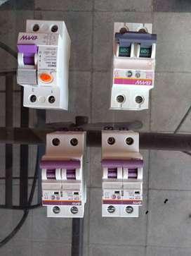 Venta de termicas y disyuntores