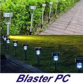 Estaca Solar Led Acero Inoxidable Jardin Zona Alto Rosario BLASTER PC