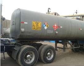 Cisterna de asfalto, residual, emulsión forrada 8485 Gln - Semiremolque