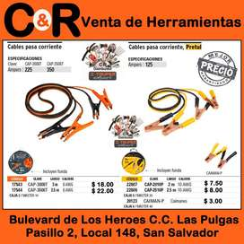 Cables pasa Corriente