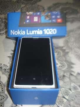 Celular Nokia Lumia 1020 Impecab En Caja Original No Envio
